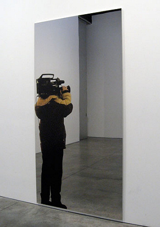 Michelangelo Pistoletto - Video Shoot