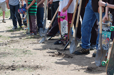 Nederland Colorado - Skatepark Groundbreaking