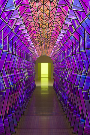 Olafur Eliasson - One-Way Colour Tunnel - 2007