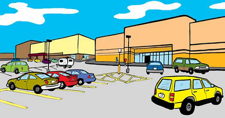 Packard Jennings - A Day at the Mall - Page One