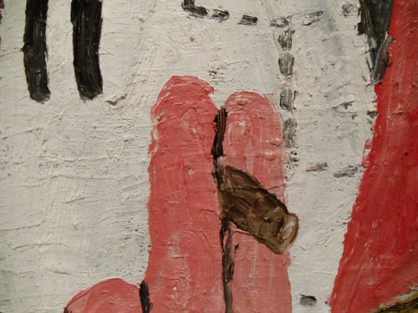 Philip Guston - Edge of Town - detail - 1969