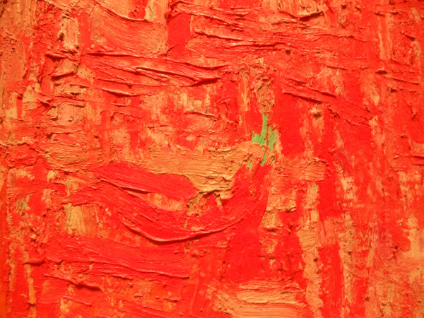 Philip Guston - Painting - detail - 1954