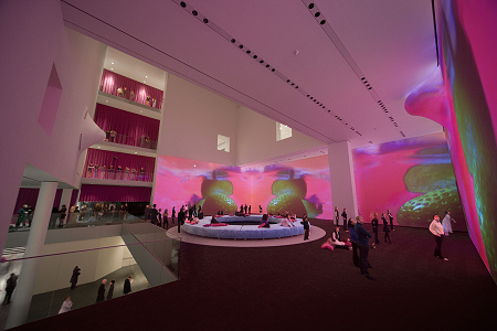 Pipilotti Rist - Pour Your Body Out - installation view