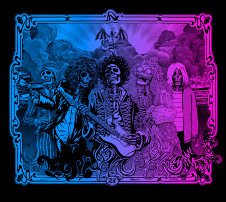 Post Neo Explosionism - The 27 Club - NOWhere Limited Gallery Edition - 2009