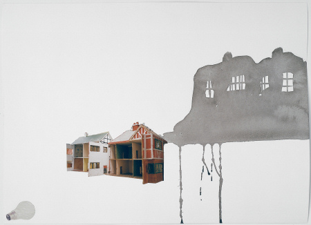 Rachel Whiteread - Study for Village 1st
