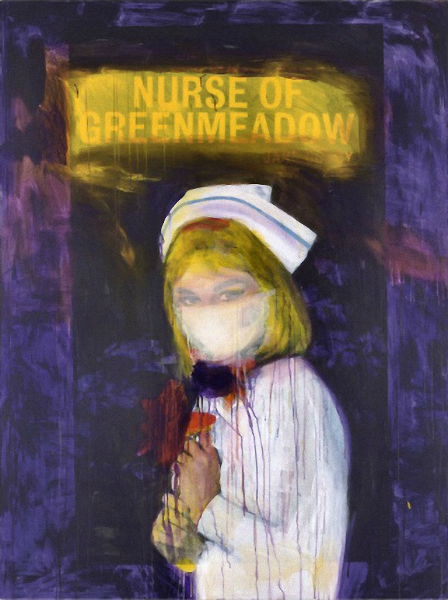 Richard Prince - Nurse of Greenmeadow  - 2002