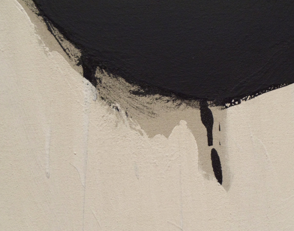 Robert Motherwell - Elegy to the Spanish Republic, 108 - detail - 1965-67