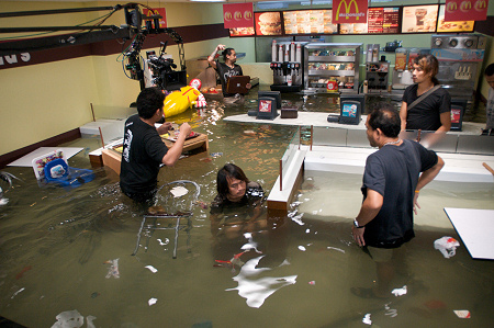 Superflex - Flooded McDonald's - Production Still - 2008
