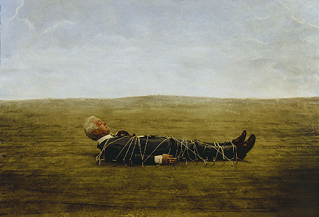 Teun Hocks - Untitled (Tied to Ground)