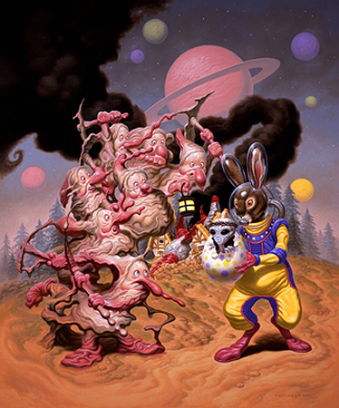 Todd Schorr - When Fairy Tales Collide - 2008