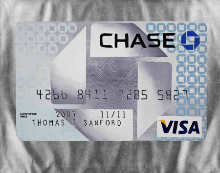 Tom Sanford - Self Portrait (My Credit Card) - 2008