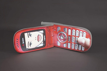 Tony Oursler - Cherry Nokia