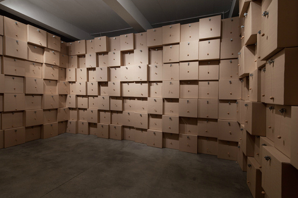 Zimoun - Volume - Installation View - 2012