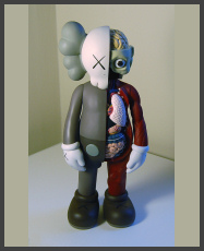 KAWS - The Dissected Companion 5YL - Brown