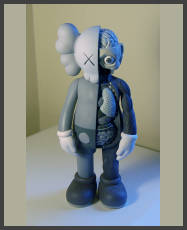 KAWS - The Dissected Companion 5YL - Mono
