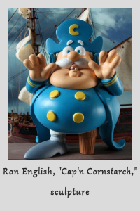 Cap'n Cornstarch by Ron English at NOWhere Limited