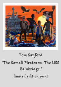 Somali Pirates Print by Tom Sanford at NOWhere Limited
