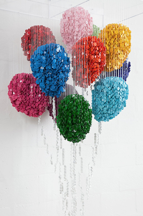 Augusto Esquivel - Sewing Buttons and Monofilament (3)