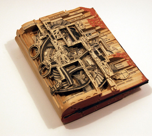 Brian Dettmer - Book Sculpture (1)