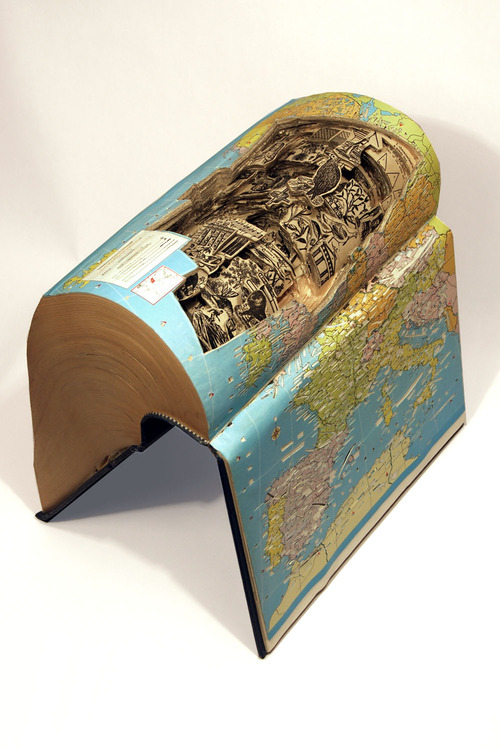 Brian Dettmer - Book Sculpture (2)