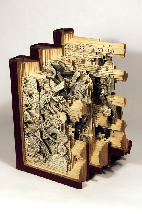Brian Dettmer - Book Sculpture (4)