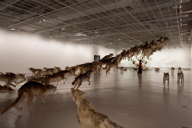Cai Guo-Qiang - The Ninth Wave (1)
