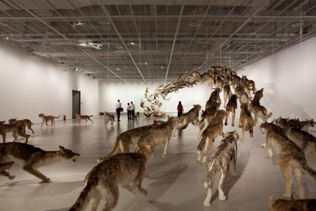 Cai Guo-Qiang - The Ninth Wave (2)