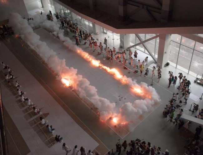 Cai Guo-Qiang - The Ninth Wave (6)