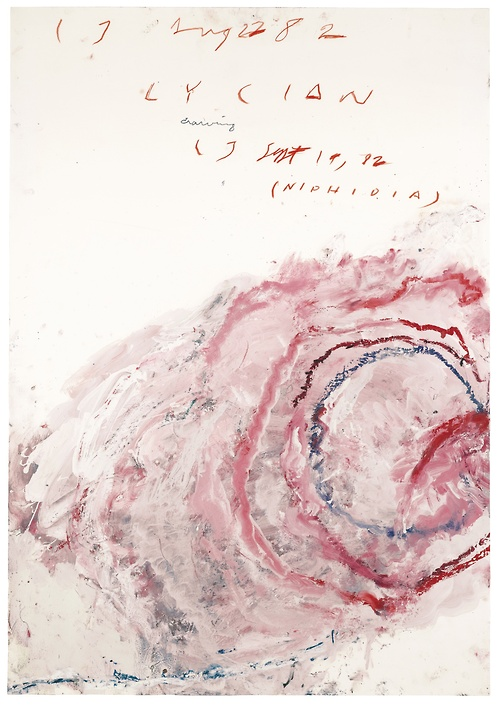 Cy Twombly - Lycian Drawing (1)