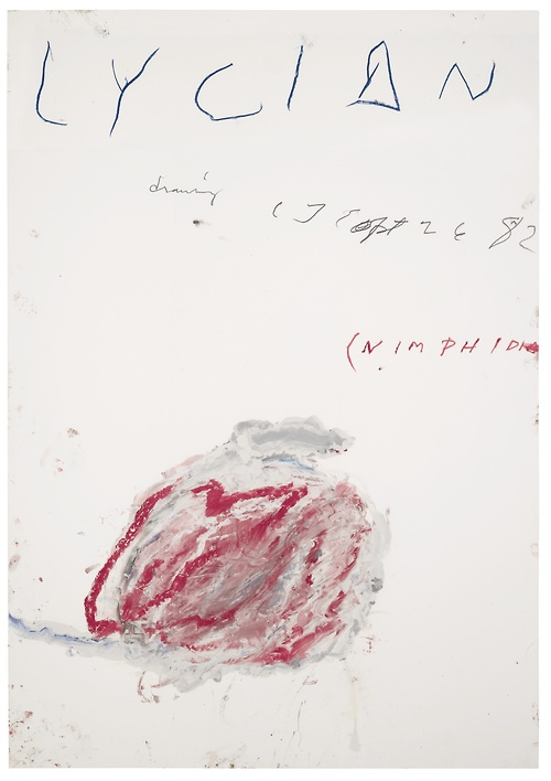 Cy Twombly - Lycian Drawing (2)