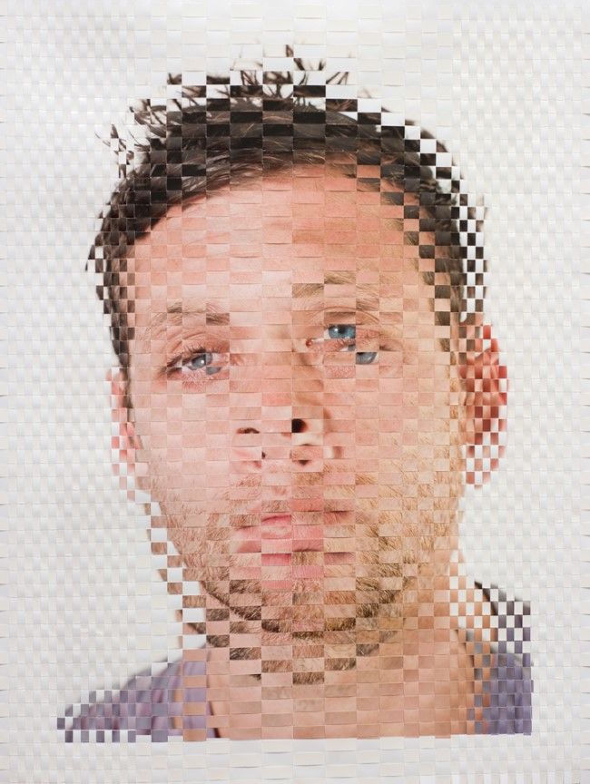 Woven Portrait by David Samuel Stern