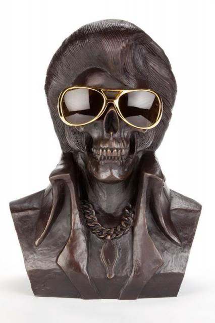 Frank Kozik - The King is Dead (Bronze Edition) (1)