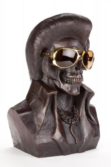 Frank Kozik - The King is Dead (Bronze Edition) (3)