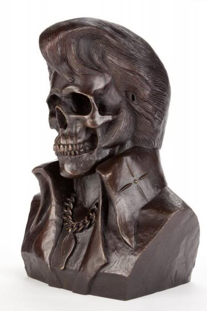 Frank Kozik - The King is Dead (Bronze Edition) (4)