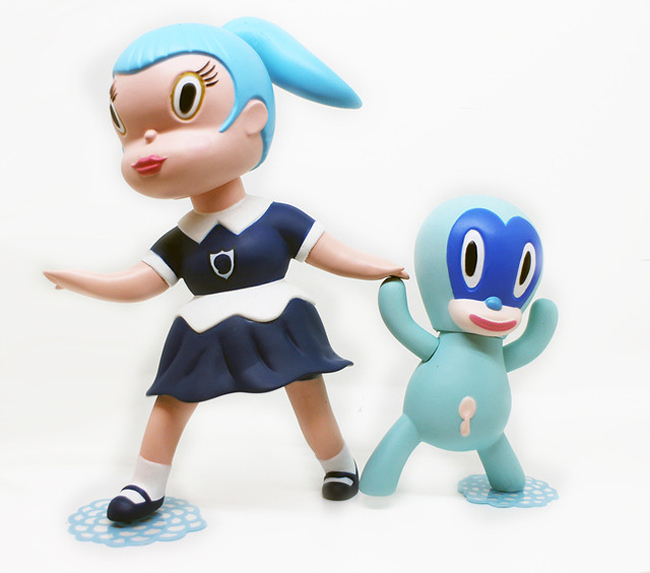 Gary-Baseman-Wild-Girls-Set-Beverly-Blue-Edition-LRG