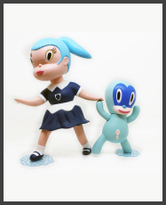 Gary-Baseman-Wild-Girls-Set-Beverly-Blue-Edition