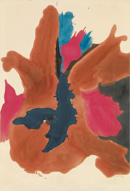 Helen Frankenthaler - Composing with Color Paintings 1962–1963