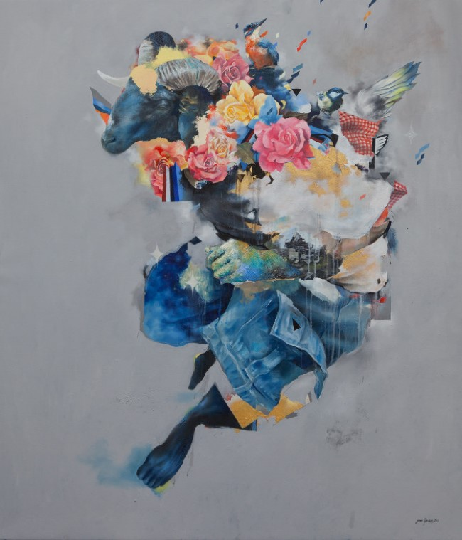 Joram Roukes - Oil Painting (1)
