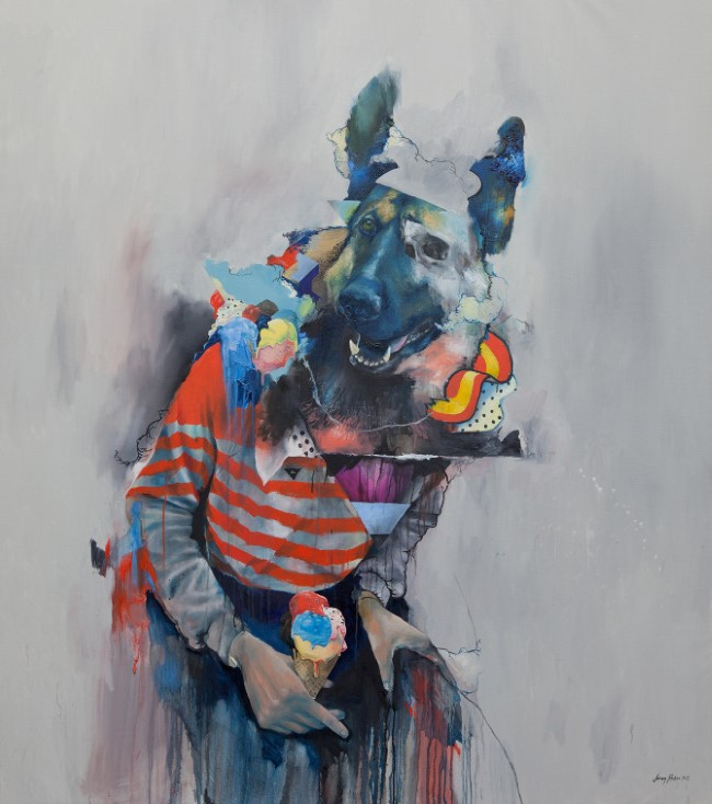 Joram Roukes - Oil Painting (2)