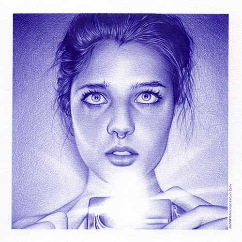 Juan Francisco Casas - Ballpoint Drawing (5)