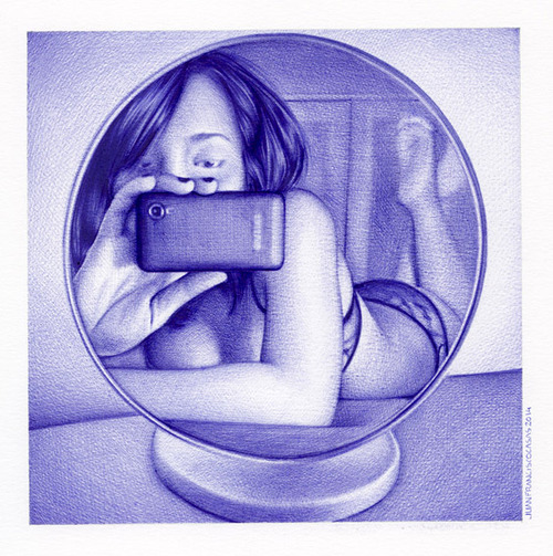 Juan Francisco Casas - Ballpoint Drawing (6)