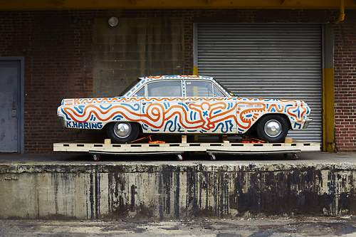 Keith Haring - Untitled (car)