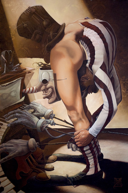 Lee Harvey Roswell - Painting (2)