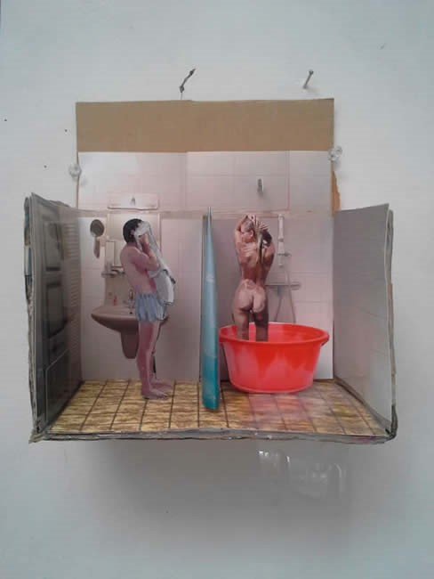 Marit Dik - 3D Collage (3)