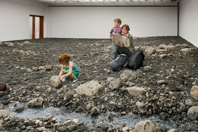 Olafur Eliasson - Riverbed (1)