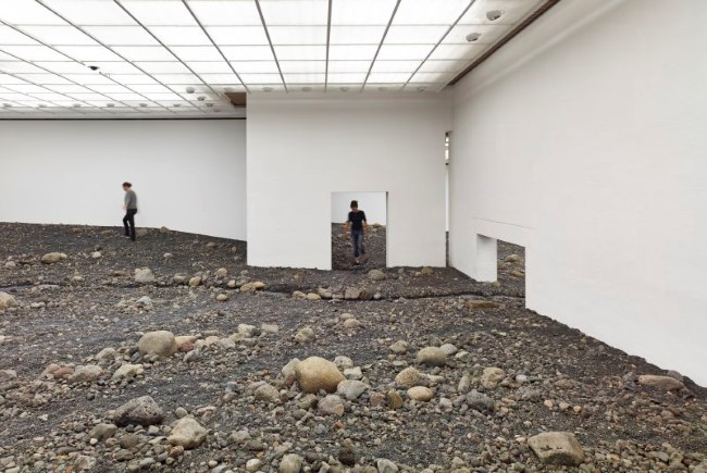 Olafur Eliasson - Riverbed (2)