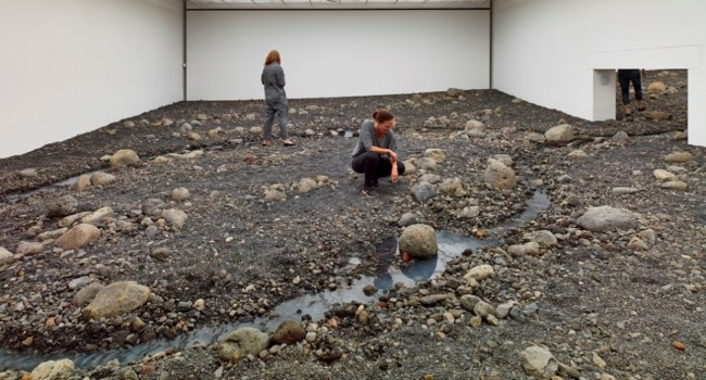 Olafur Eliasson - Riverbed (3)