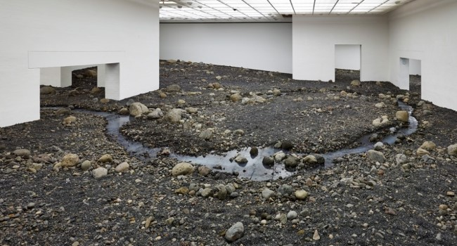 Olafur Eliasson - Riverbed (5)