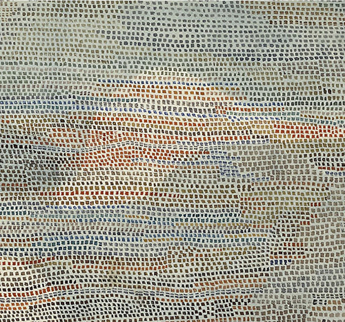 Paul Klee - Memory of a Bird (1932) detail