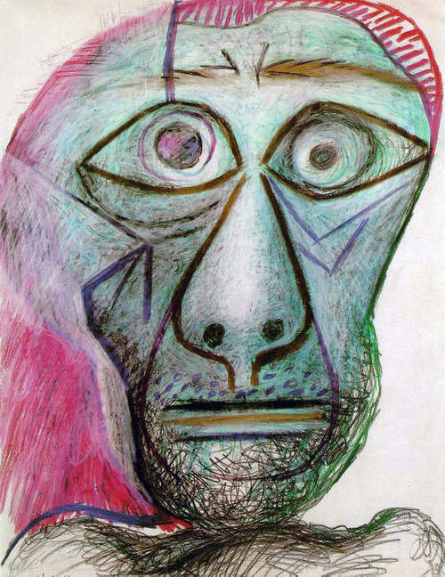 Picasso - Self Portraits in Chronological Order 1901-1972 (10)